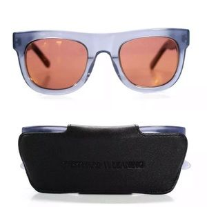 Westward Leaning Pharaoh 06 Prussian Blue Sunglass